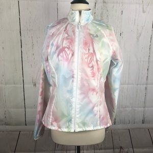 Fila Tropical Floral Running Jacket